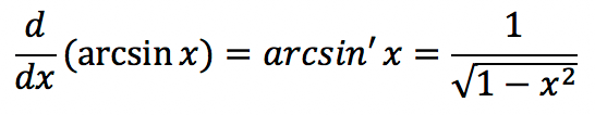 Производные тригонометрических функций: формулы