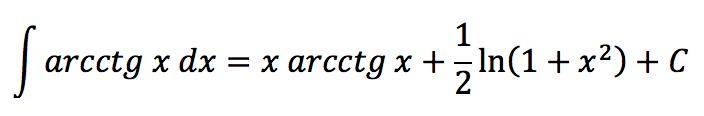 Интегралы тригонометрических функций