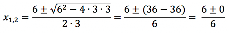 Решение квадратного уравнения