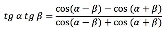 Тригонометрическая функция: Тангенс угла (tg)
