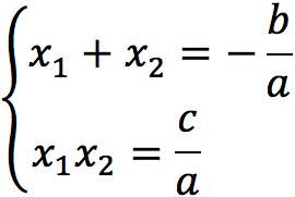Теорема Виета - квадратное уравнение