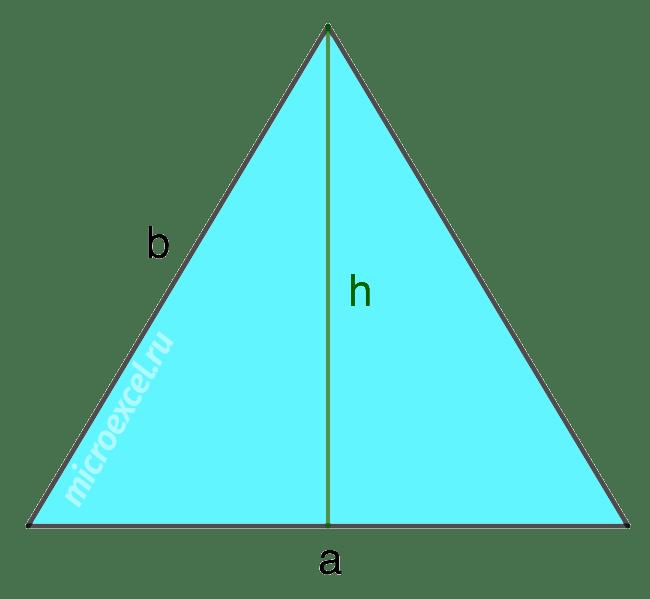 Нахождение площади правильной пирамиды: формулы