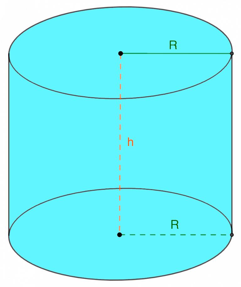 Радиус цилиндра