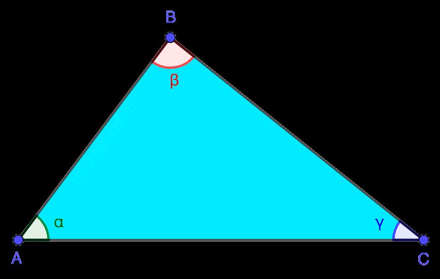 Геометрическая фигура - треугольник