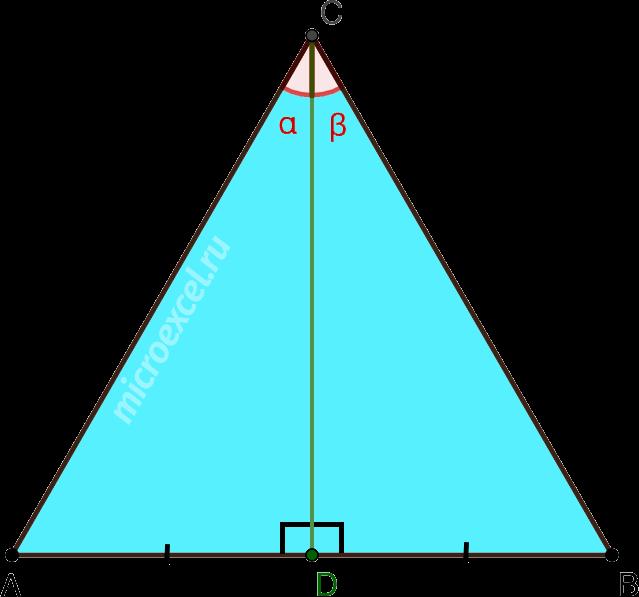 Высота, медиана и биссектриса равностороннего (правильного) треугольника