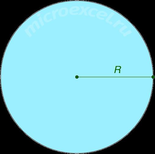 Радиус окружности