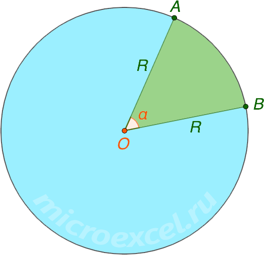Сектор круга
