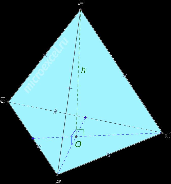 Равногранный тетраэдр