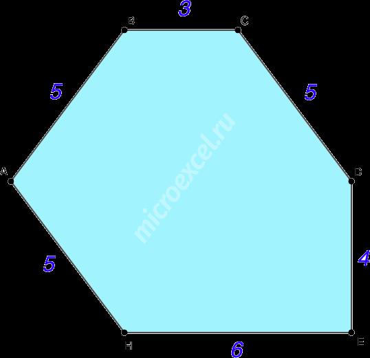 Произвольный многоугольник